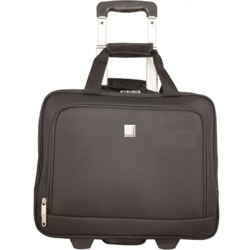 """Urban Factory Method Carrying Case (Trolley) For 15.6"""" Notebook - Black """"Product Category: Accessories/Carrying Cases"""""""
