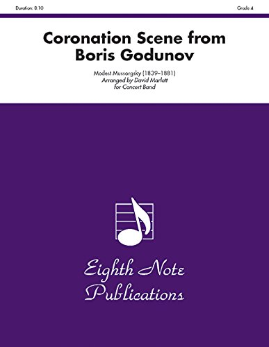 Coronation Scene (from Boris Godunov) (Conductor Score & Parts) (Eighth Note Publications) by Alfred Music