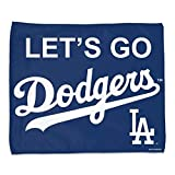WinCraft Los Angeles Dodgers Let's GO Dodgers Rally Towel 15x18 - Full Color