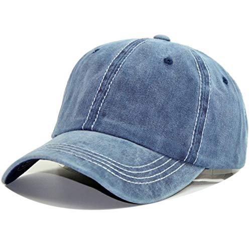 (High end Black Baseball Cap Men Cotton Cap Korean Tide Bend Sun Visor Solid Color Outdoor Cap)