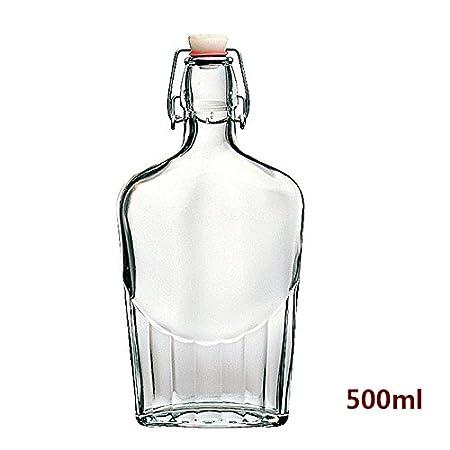 Compra Estilo clásico con tapón de botella de vidrio transparente ...