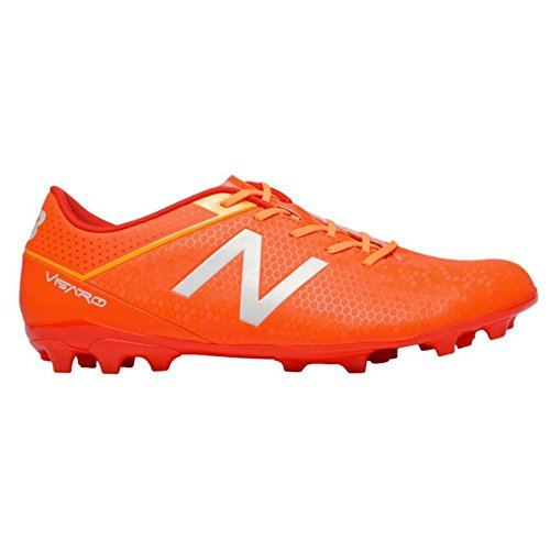 New Balance Bota Visaro Control AG Orange-White-Yellow naranja