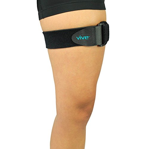 It band strap by vive iliotibial band compression wrap outside of knee pain hip thigh it for Exterior knee pain