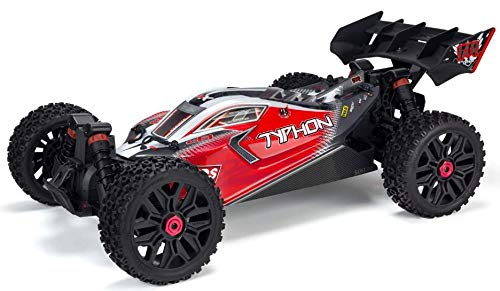 ARRMA Typhon 4X4 3S BLX Brushless 4WD RC Buggy RTR (LiPo Battery Required) with 2.4GHz Radio | 1:8 Scale - 3s Fin