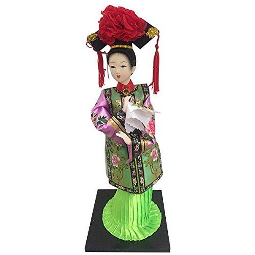 THY ARTS 12'' Chinese Qing Dynasty Oriental Doll DOL-C004 by THY ARTS