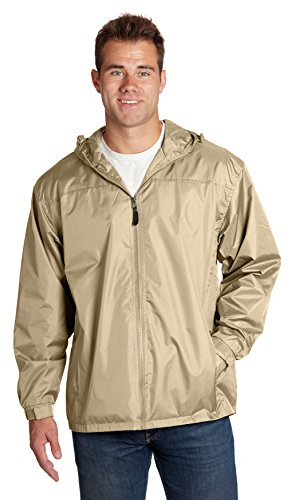 Zip Front Windbreaker Jacket - 9