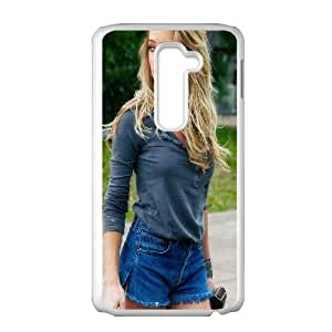 Amber Heard LG G2 Cell Phone Case White phone component RT_210759