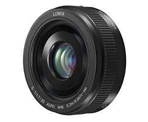 PANASONIC LUMIX G II LENS, 20MM, F1.7 ASPH., MIRRORLESS MICRO FOUR THIRDS, H-H020AK (USA BLACK)
