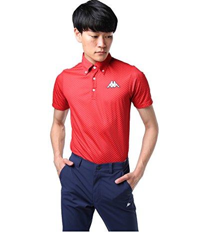 カッパゴルフ ゴルフウェア ポロシャツ 半袖 カモジャガード半袖BDN KG812SS93S RD M
