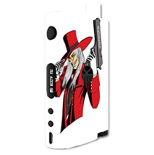 Decal Sticker Skin WRAP - Kanger Nebox Kit - Vampire Hunter Peacekeeper Artwork Picture]()