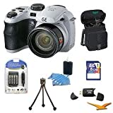 General Electric Power Pro X500-WH 16 MP with 16GB Camera Bundle (White), Best Gadgets