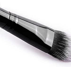 Liquid Foundation Makeup Brush Synthetic Hair With Painted Wooden Handle