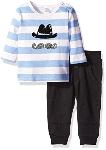 Price comparison product image Petit Lem Baby Boys' Hipster Pant Set,  Music,  12 Months