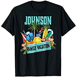 Johnson Family Vacation T-Shirt