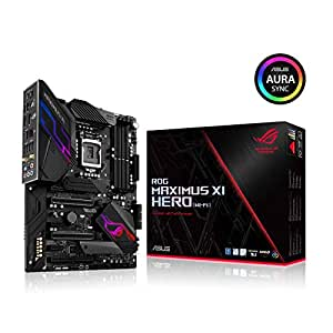 ASUS ROG Maximus XI Hero (Wi-Fi) Z390 Gaming Motherboard LGA1151 (Intel 8th 9th Gen) ATX DDR4 DP HDMI M.2 USB 3.1