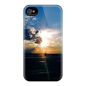 ConnieJCole KIcKgUI4414jfuIb Case Cover Skin For Iphone 4/4s (airport Sunset)
