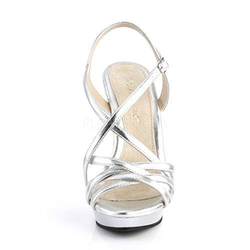 Higher De Tobillo Tira Plata Mujer heels rFHWnRr