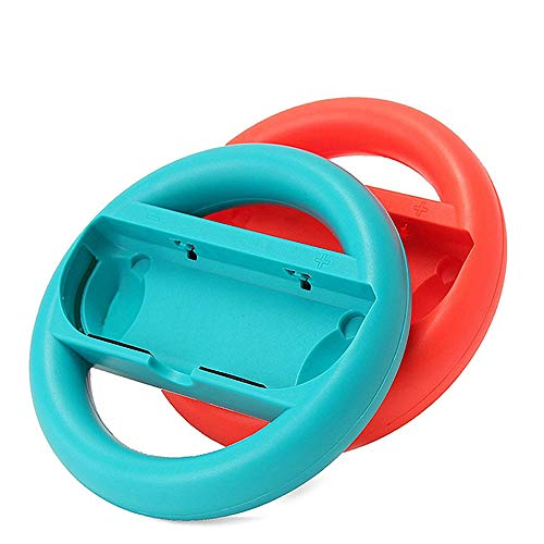 Switch Steering Wheel Switch Racing Wheel for Nintendo Joy Con Controller Handle by ABASSKY (Image #1)