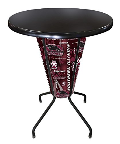 (Holland Bar Stool Co. Outdoor/Indoor LED Lighted Southern Illinois Pub Table)