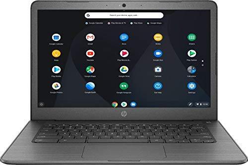 HP Newest 14inch Chromebook AMD Dual-Core A4-9120C Processor, 4GB DDR4 Memory, 32GB eMMC Storage, AMD Radeon R4 Graphics, Chrome OS-Gray(Renewed) by HP
