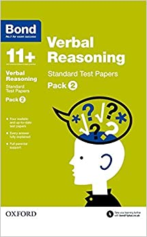 Book Bond 11+: Verbal Reasoning Standard Test Papers: Pack 2 by Frances Down (2015-03-05)