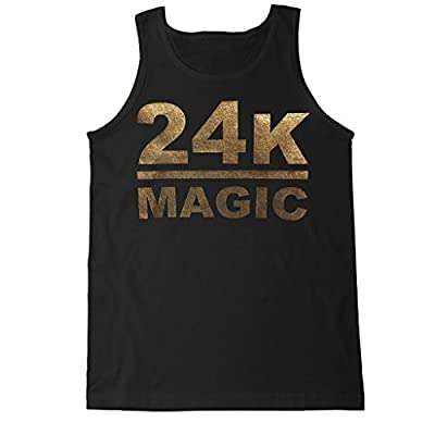 FTD Apparel Men's 24K Magic Tank Top