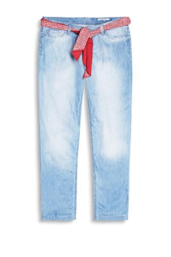 057cc1b019 by Azul edc Blue Esprit Mujer Wash Jeans Light FEqwCRwx