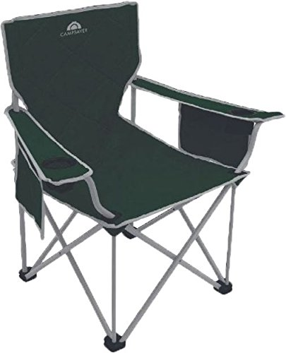 Alps Mountaineering Campsaver King Kong Chair, Dark Green/Light Gray, One Size, 8141535
