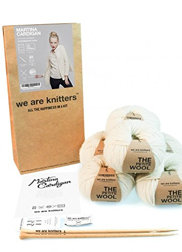 We are Knitters – Intermediate Level Knitting Kit – Martina Cardigan by We Are Knitters (Image #4)