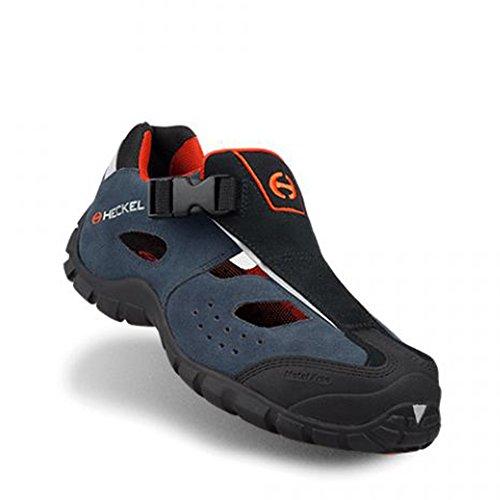 Heckel MACsole® Sport Macair S1P HRO SRA - Sporty Chaussure de Sécurité/Sandale - 100% Métal Libre