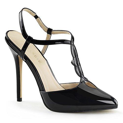 Pleaser - Zapatos destalonados de material sintético mujer