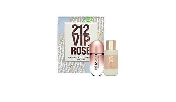 ESTUCHE CAROLINA HERRERA 212 VIP ROSE EDP 50 ML: Amazon.es: Belleza