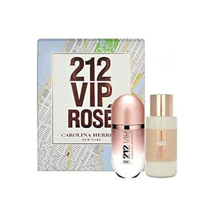 ESTUCHE CAROLINA HERRERA 212 VIP ROSE EDP 50 ML: Amazon.es ...