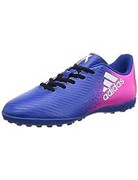 adidas Kids Soccer Shoes X 16.4 Turf Junior Football Futsal Boots BB5725