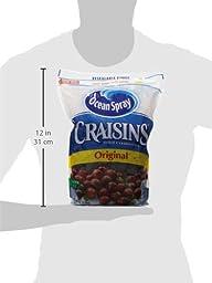 Ocean Spray Craisins Cranberry, 64 Ounce