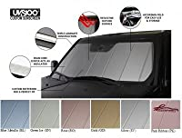 Covercraft UVS100 - Series Custom Fit Windshield Shade for Select Jeep Grand Cherokee Models - Triple Laminate Construction (Silver)