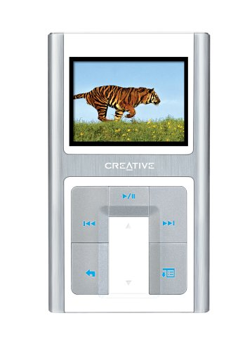 Battery Creative Labs Mp3 (Creative Zen Sleek Photo 20 GB Multimedia Player (Aluminum/White))