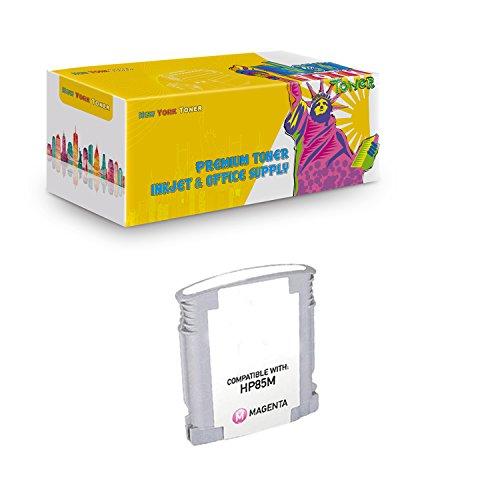New York TonerTM New Compatible 1 Pack C9429A HP 85 High Yield Inkjet For HP Designjet 30 | 130 . -- Light Magenta