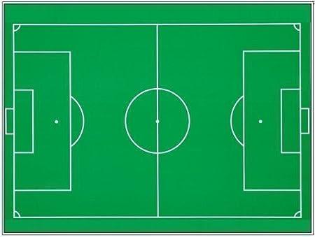 Amazon.com: Campo de Fútbol Decoración para Tarta para A4 ...