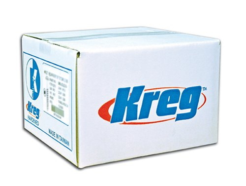 Kreg SML-C125-5000 1 1/4-Inch Pocket Screws, 8 Coarse, Washer Head, 5000-Pack by KREG