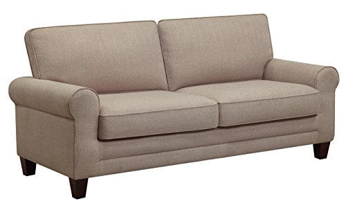 "Serta Deep Seating Copenhagen 61"" Loveseat in Beige -  - sofas-couches, living-room-furniture, living-room - 410D5WRp2IL -"
