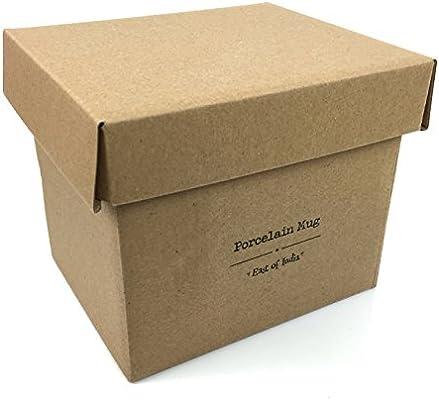 East Of India bolas de tazas de porcelana en caja de regalo: Amazon.es: Hogar