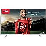 """Smart TV LED 55"""" Ultra HD 4K, TCL P6US, Prata"""