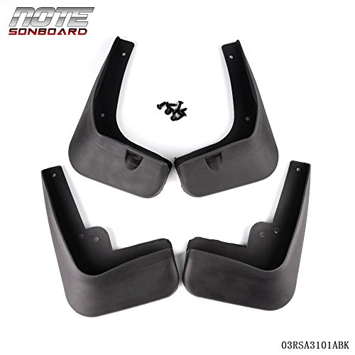 4PCS Mud Flaps Splash Guards Fender Mudguard For HYUNDAI ELANTRA MD 2011-2013