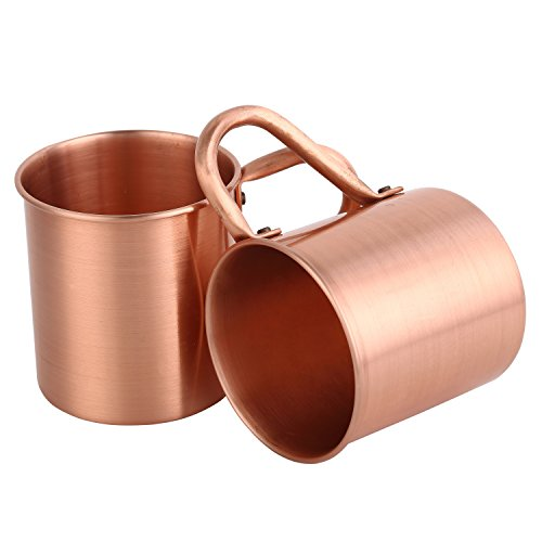 Magisor 100% Pure Copper Moscow Mule Mug (Set Of 2)(14.5 OZ) by Magisor (Image #4)