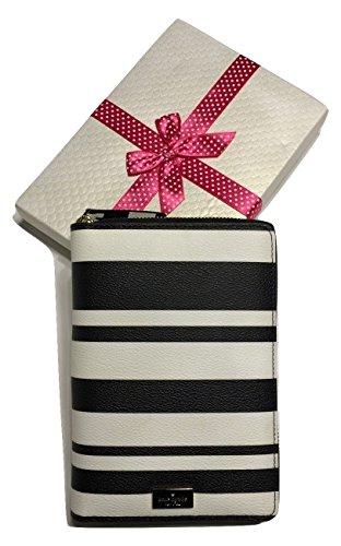 Kate Spade Arbour Hill Printed Zip Around Personal Organizer Planner 2017 WLRU2735 Bonbon Stripes