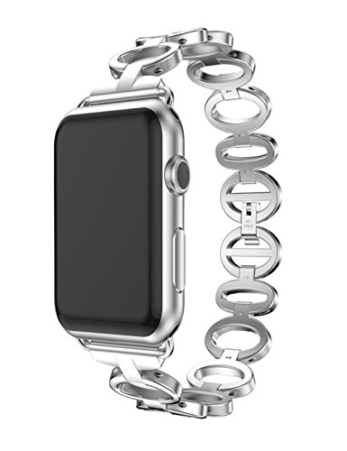 dreaman-replacement-stainless-steel-bracelet-band-strap-for-watch-1-2-38mm-silver