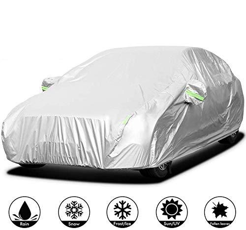 Autohoes Sedan Auto Zon Regen Stof Vuilbeschermingshoes Waterdicht/Winddicht/Stofdicht/Krasbestendig Buiten UV…