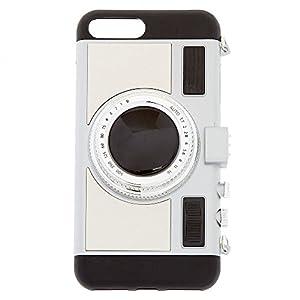 Claire's Girl's Classic Retro Camera Phone Case - 6/7/8+