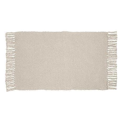 Buy Tapis Deco 50 X 80 Cm Cotton Unix Carpet Natural Beige Online